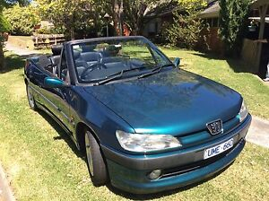 1997 Peugeot 306 Convertible 2 litre / 5 speed manual Box Hill South Whitehorse Area Preview