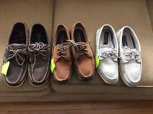 SPERRY. TOP-SIDERS LEATHER DECK SHOES