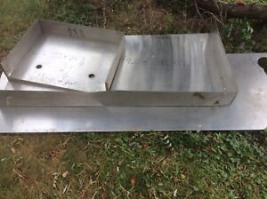 Stainless steel bench / counter tops