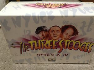 New Collectors ' The Three Stooges NY Yucs X10' VHS
