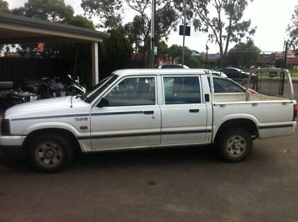 1998 Ford Courier daul cab  Ute Para Hills West Salisbury Area Preview