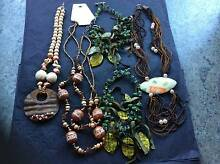 Jewellery from New Orleans -	5 Beaded Necklaces - Various Colours Woodville Gardens Port Adelaide Area Preview