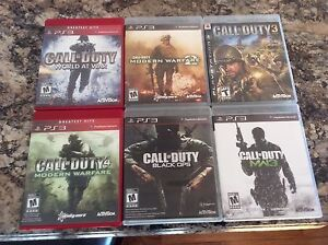 PS3 GAMES NEW CONDITION