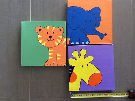 Canvass paintings for children' s bedroom