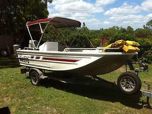Tinnie Tinny Boat Stacer Barra elite 435 Rosewood Ipswich City Preview