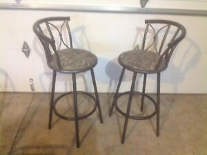 Barstools $50 for the pair