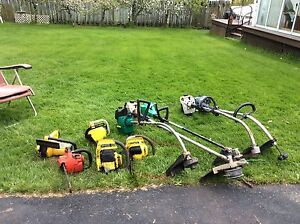 Used saws wackers and  blowers and Honda motor