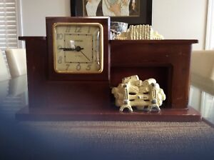 Mantle Clock made in Brooklyn NY  USA