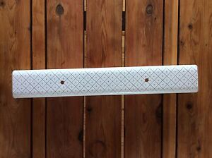 Retro Frosted Glass Light Fixture