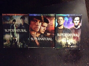 Supernatural seasons 1,3&4 DVD