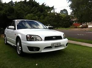 2002 Subaru Liberty RX 2.5L MY2003  Sedan Meadowbank Ryde Area Preview