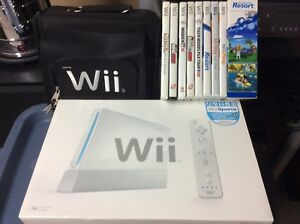 Wii like new only used a handful of times