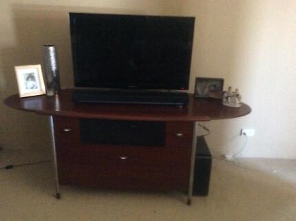 Entertainment Unit   Brooker Furniture Gallery   Solid Jarrah