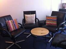 black swivel chairs multi-purpose Chatswood Willoughby Area Preview