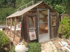 10 x16 shed/greenhouse