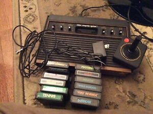 Atari 2600 - 6 switch model with 12 games