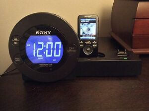 Radio-réveil Sony