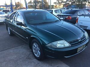 2002 Ford Falcon AUIII XL (LPG) automatic Ute Sandgate Newcastle Area Preview