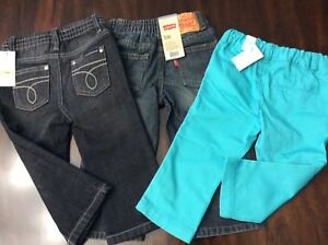 NEW WITH TAGS Calvin Klein, Levi's and Children's Place bottoms