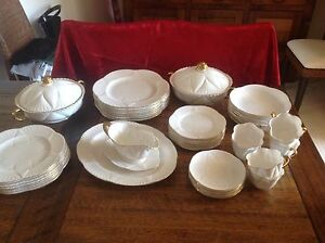 Shelley bone china dinner set Huntleys Cove Hunters Hill Area Preview