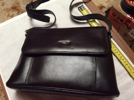 Oroton Handbag Dark Brown Like New
