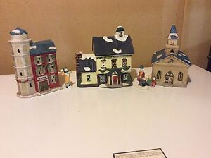 Christmas Dickens ceramic collectibles