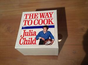 """6 vintage Julia Child """"The Way To Cook"""" vhs tapes"""