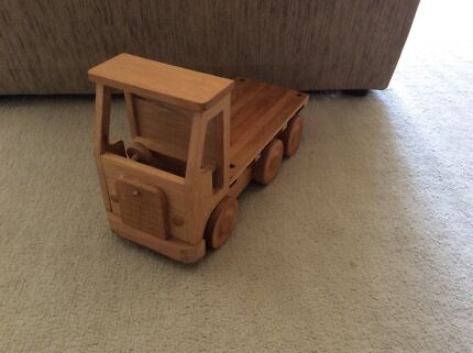 Home made wooden truck