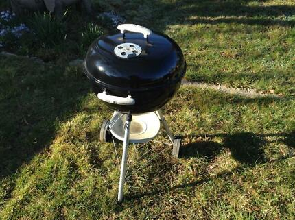 Weber kettle BBQ, one touch silver, 47cm diameter