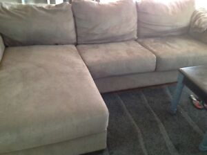 Used couch grey