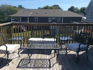 6 piece Patio set for sale LOWERED 175$