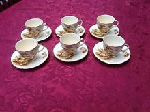 Alfred Meakin cups and saucers x 6 Wedding/Baby Shower, High Tea Glen Waverley Monash Area Preview