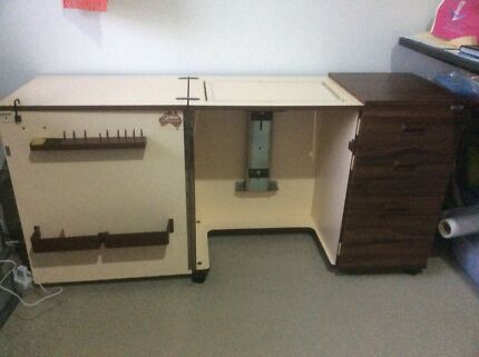 Horn Sewing Machine Cabinet 150 00