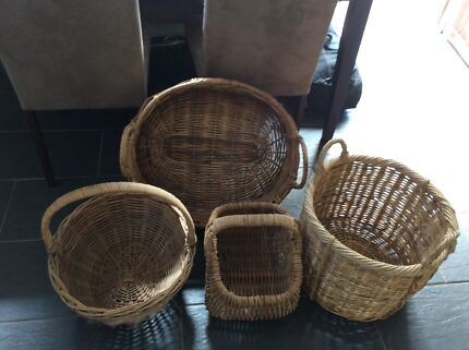 Cane basket in townsville region qld gumtree australia free cane baskets negle Images