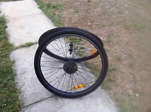 Wheels and new tyres McKellar Belconnen Area Preview
