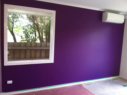 Experience  painters team available..