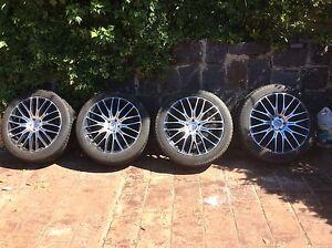 Holden Captiva 20 inch wheels and tyres near new Tootgarook Mornington Peninsula Preview