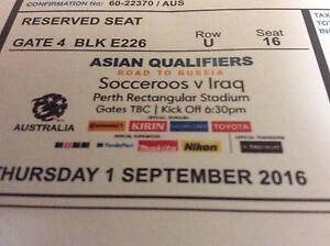 Socceroos v Iraq tickets Attadale Melville Area Preview
