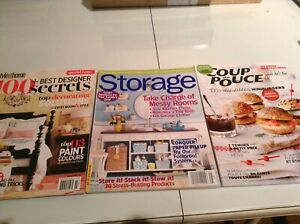 Collection magazines