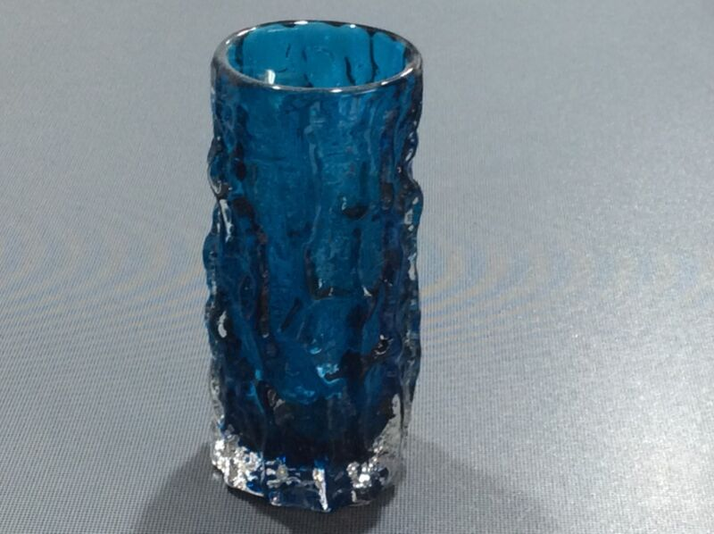 Rare And Sought After Whitefriars Bark Vase By Baxter 1960s