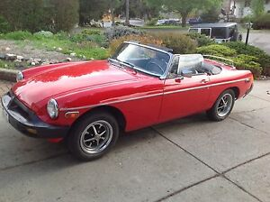 MINT CONDITION 1977 MG
