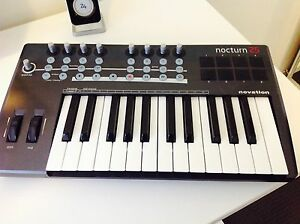 MIDI keyboard nocturn 25 Brunswick West Moreland Area Preview