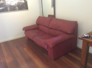 Leather Sofa Artifex Scarborough Stirling Area Preview