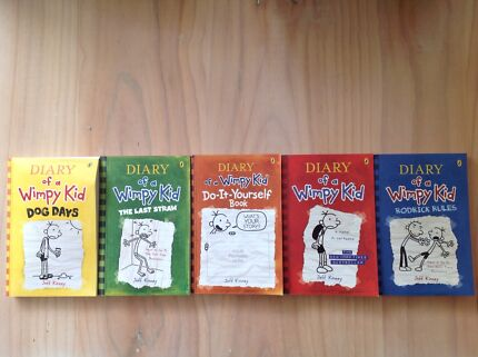Diary of a wimpy kid book set childrens books gumtree australia diary of a wimpy kid novels solutioingenieria Gallery