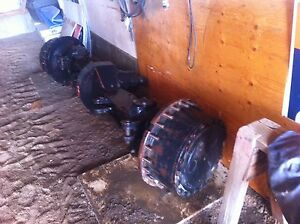 Case IH 4994 Front Differential