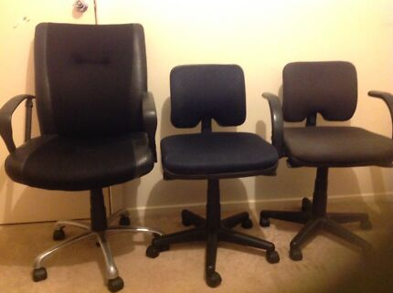 STUDENT OFFICE HEAVY DUTY CHAIR 3 AVAILABLE KINGS PARK