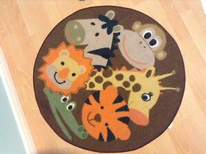 Décoration pour chambre de bébé girafe