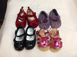 Baby girl size 3 shoes.  Together or separate