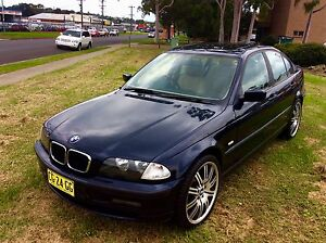 2001 BMW 318i E46 Luxury Sedan fully Optioned Long Rego Woodbine Campbelltown Area Preview