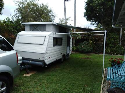1998 WINDSOR Pop Top Caravan 13ft Scarborough Redcliffe Area Preview